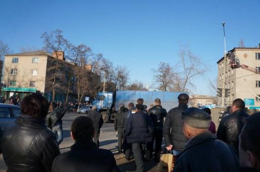 Жители Константиновки вышли на улицы после аварии